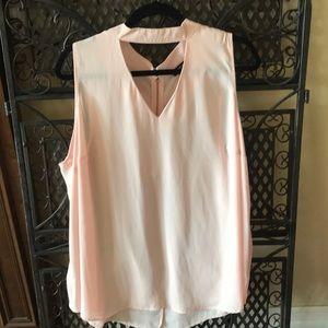 Torrid sleeveless blouse